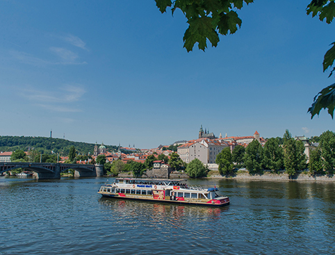 City Sightseeing Prague Hop on Hop off Bus & Boat
