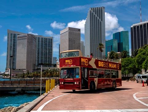 Hop on Hop off Big Bus Tour - Miami