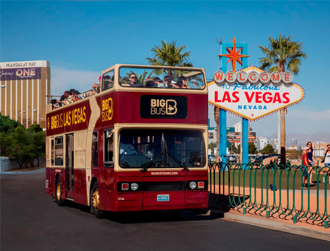 Hop on Hop off Big Bus Tour - Las Vegas