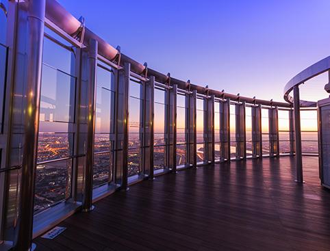 At The Top, Burj Khalifa - Levels 124 + 125