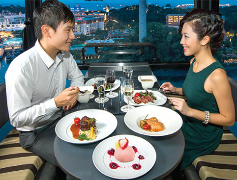 Cable Car Dining Experience