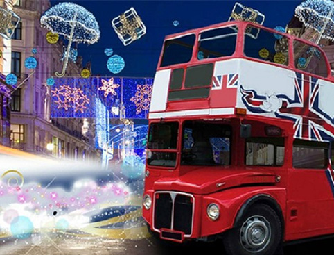 Christmas Lights Bus Tour