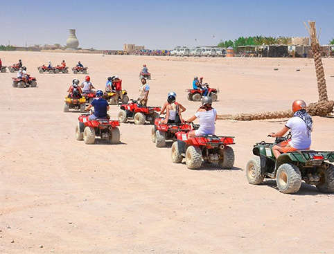 Full Day Jeep Safari from Hurghada