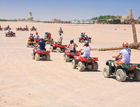 Full Day Jeep Safari from Hurghada
