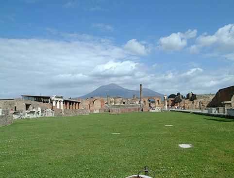 Half Day Pompeii - from Naples