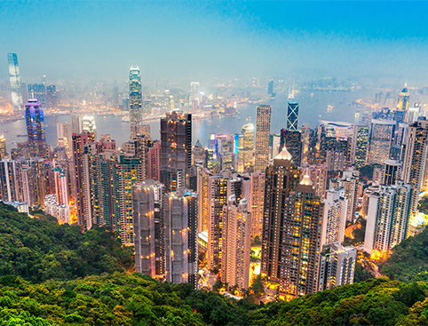 Hong Kong Island Tour & Symphony of Lights Cruise