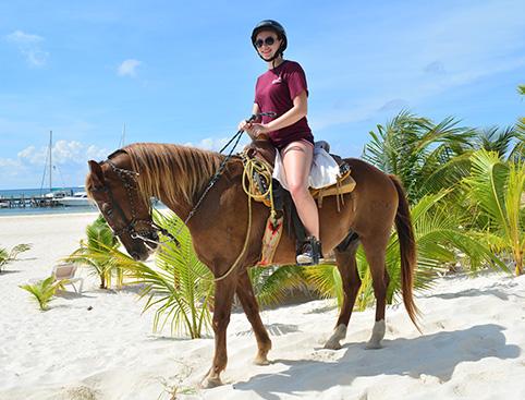 Horseback Riding in the Jungle