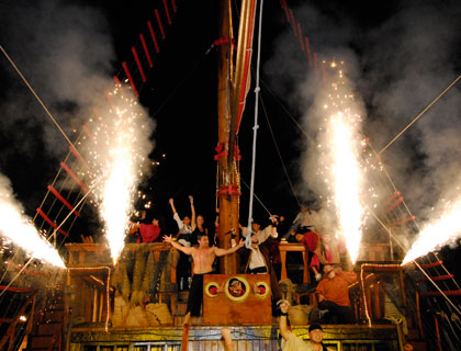 The Last Pirate Jolly Roger Dinner Cruise