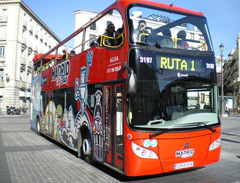 Madrid City Tour - Hop On/ Hop Off