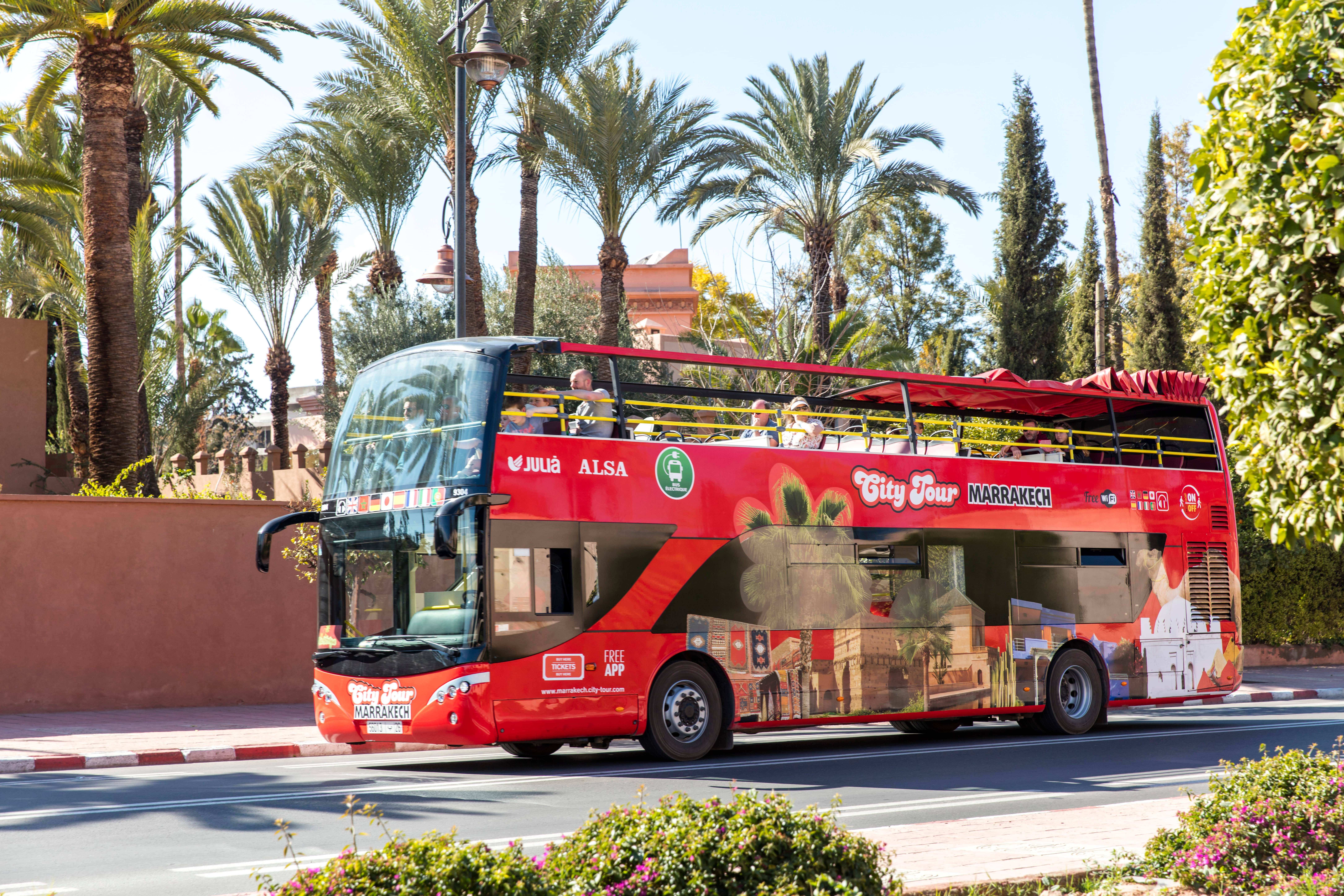 Marrakesh City Bus - 2 Day Hop On Hop Off