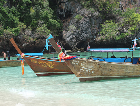 Phi Phi Island by Speedboat (Early Bird Program)