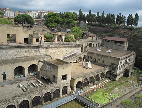 Pompeii and Herculaneum - from Naples
