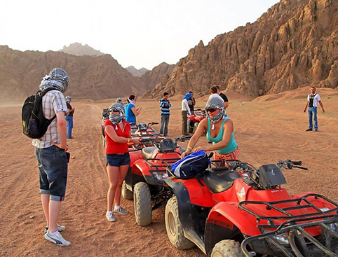 Quad Biking from Hurghada