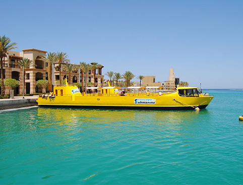 Seascope (Semi Submarine) from Hurghada
