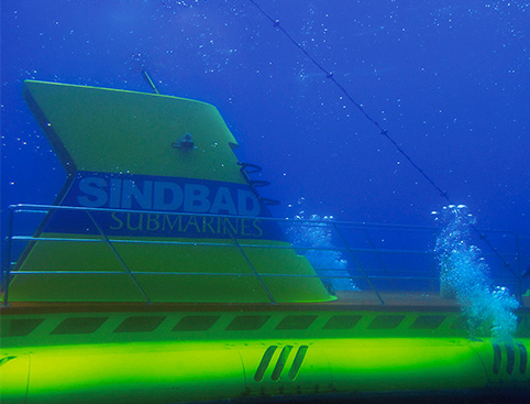Sindbad Submarine from Hurghada