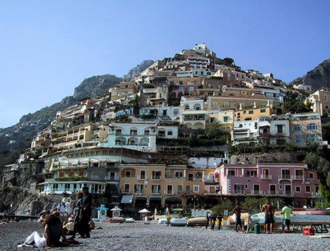 Sorrento, Positano and Amalfi - from Naples