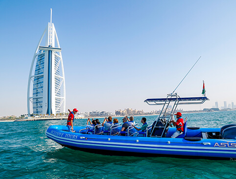 Dubai Speedboat Tours