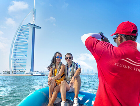 Xclusive Dubai Speedboat Sightseeing Tours