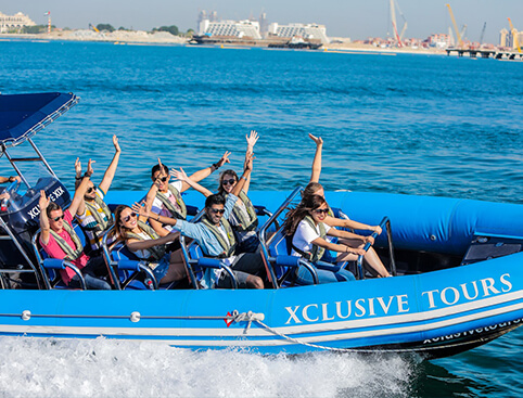 Xclusive Dubai Speedboat Tours