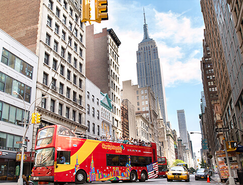All Around Town Tour NYC (incl Hop on Hop off Bus/ Ferry)