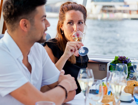 4-Course Dinner Cruise Amsterdam