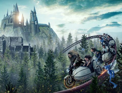 Universal Studios - The Wizarding World of Harry Potter