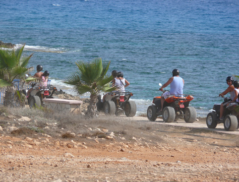 Quad Bike Safari - Half Day