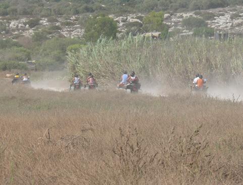 Half Day Quad Bike Safari From Ayia Napa