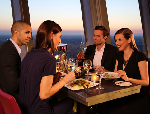 Berlin TV Tower - VIP Dinner or Lunch