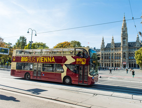 Hop on Hop off Vienna + FREE Walking Tour