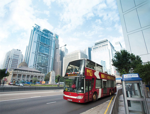 Big Bus Tours - Hong Kong