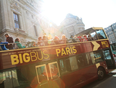 Hop on Hop Off Big Bus Tours Paris