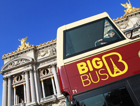Big Bus Tours Paris