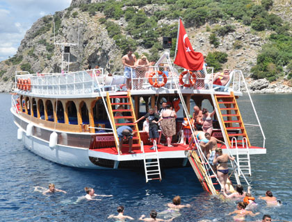 All Inclusive Boat Trip - from Marmaris