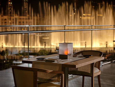 Lunch or Dinner at the Burj Khalifa