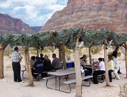 Grand Canyon Off Peak Picnic - with Limo Transfers