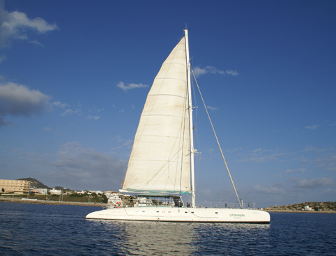 Catamaran Full Day - Incl Lunch Ibiza