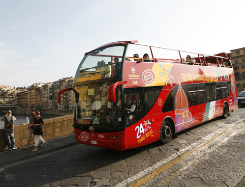 Sightseeing Bus Tour Hop on Hop off Florence