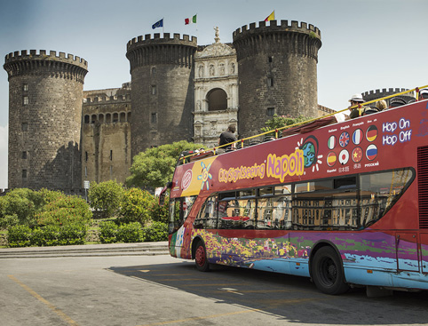 Sightseeing Bus Tour Hop on Hop off Naples