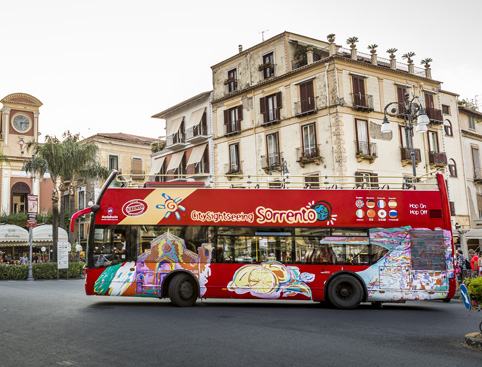 Sightseeing Bus Tour Hop on Hop off Sorrento