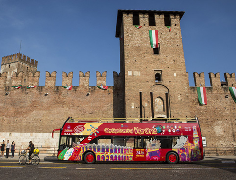 Sightseeing Bus Tour Hop on Hop off Verona