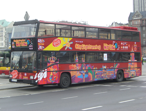 City Sightseeing Warsaw - Hop on Hop off