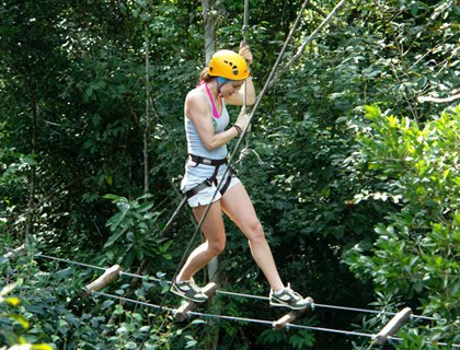 Selvatica Extreme Adventure - from Mayan Riviera