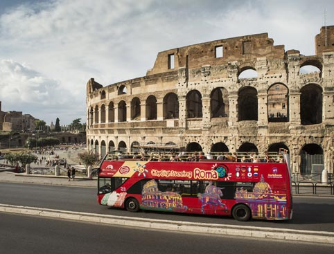 Colosseum Skip The Line + 48HR Sightseeing Bus