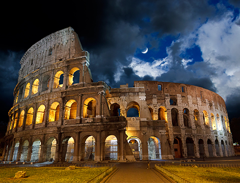 Colosseum by Night- Incl. Underground
