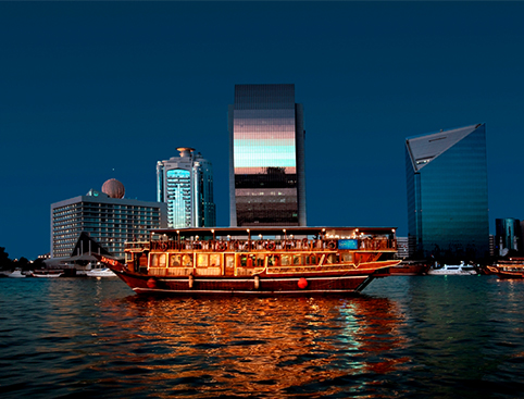 Dhow Dinner Cruise - From Abu Dhabi