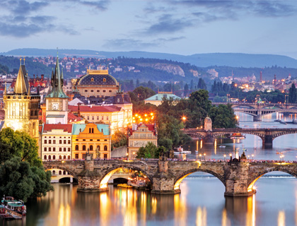 Prague Dinner Cruise on the River Vltava