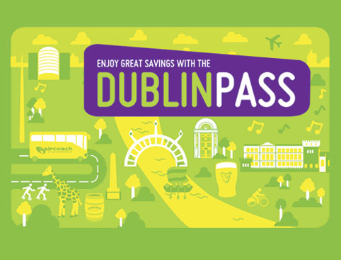 The Dublin Pass - SAVE €52