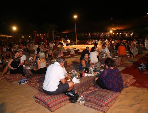 Dune Safari Dinner