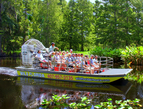 Wild Florida - Orlando's Everglades Airboat Tours & Wildlife Park